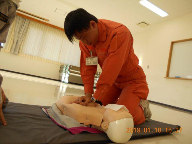 心肺蘇生訓練