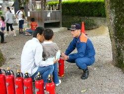 消火器体験