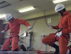 救助訓練の様子です