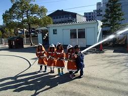 消防士さんの仲間になりました。