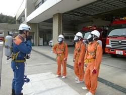 呼吸器装着訓練2
