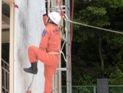 ロープ応用登はん訓練1