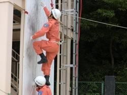 ロープ応用登はん訓練3