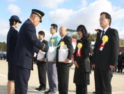消防行政に貢献された方々への表彰