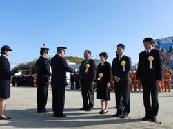 消防行政に寄与された方々への表彰