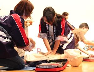 一般の部 AEDの取扱い
