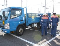 危険物運送車両の検査