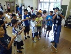 ロープ結索訓練