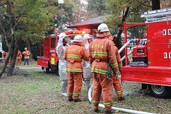 消防団との活動確認