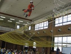 救助技術訓練見学