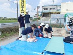 救護班が救命の連鎖を繋げます!