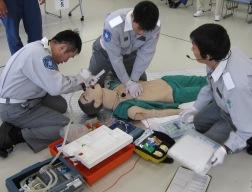 医師の指示による救命処置
