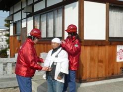 女性消防団による応急手当