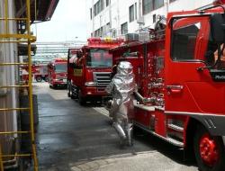 尾三消防現場到着