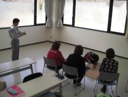 講習は座学、実技に加え、学科試験も行いました