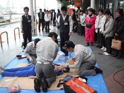 救急隊による救命処置