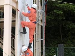 ロープ応用登はん訓練2